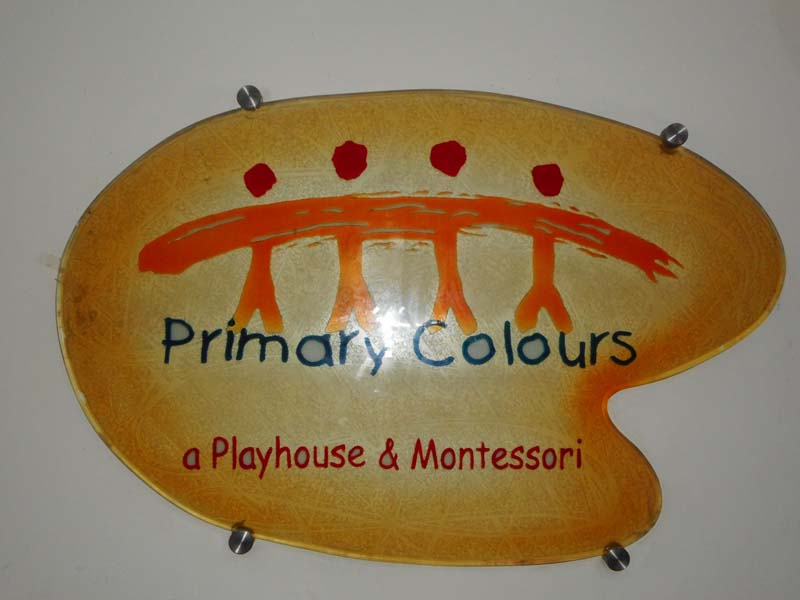 Primary Colours - Playhouse and Montessori
